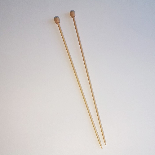 Knitting Patterns Single Point Needles : Quot single point bamboo knitting needles on sale off