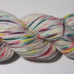 hand dyed alpaca/wool worsted weight yarn from Snowshoe Farm, Peacham, Vermont