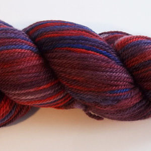 worsted weight alpaca/merino yarn from Snowshoe Farm